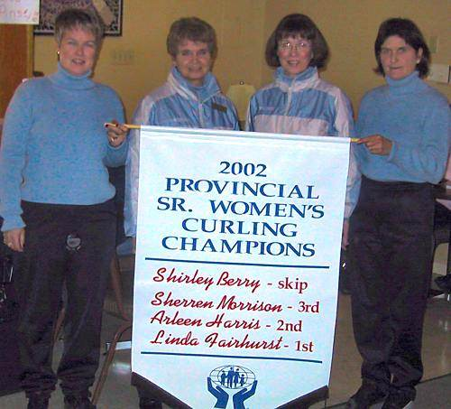 Let's flash back to Shirley Berry's first Provincial Seniors title!