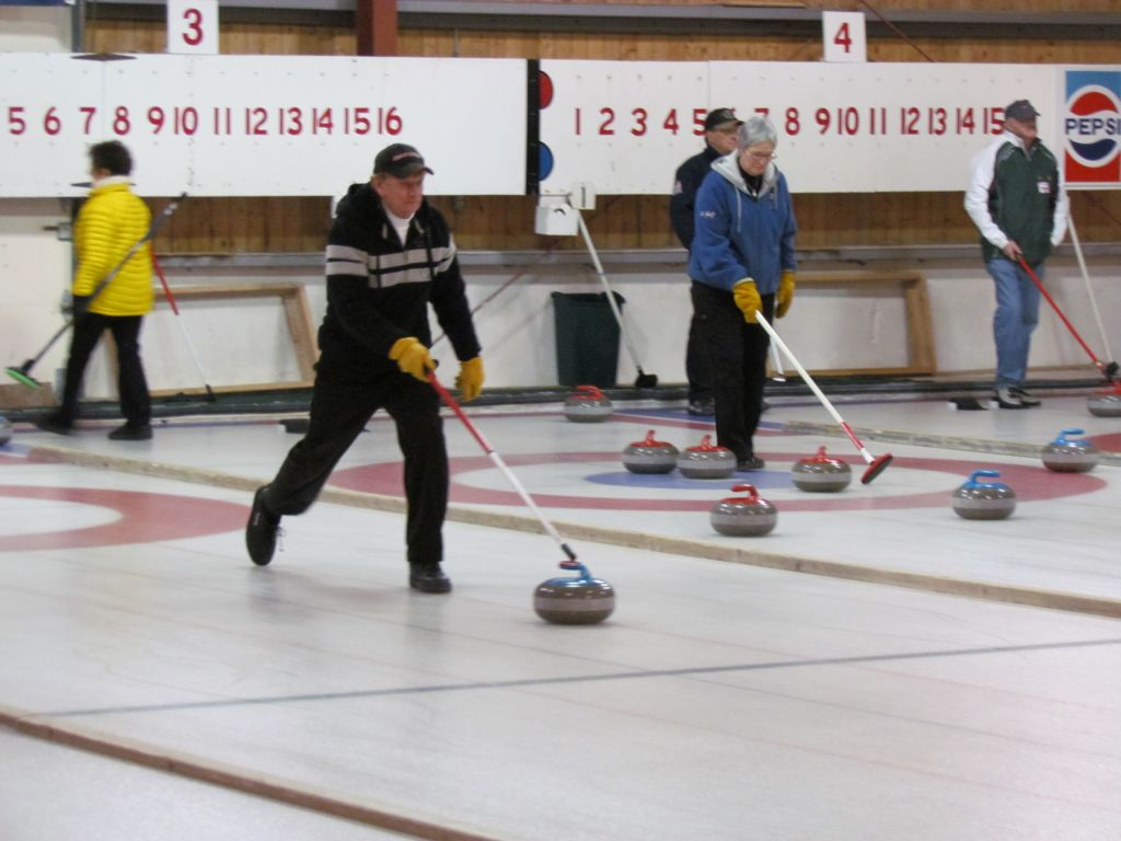 UPDATED Stick Curling Draw Time Changes to accommodate rental