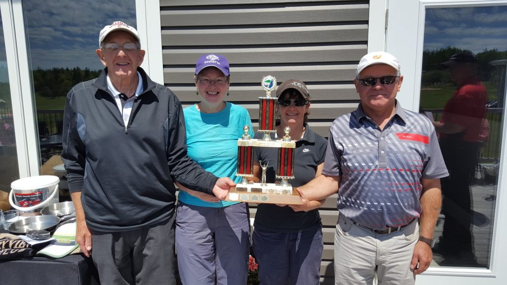 Currie foursome wins annual Club golf tourney