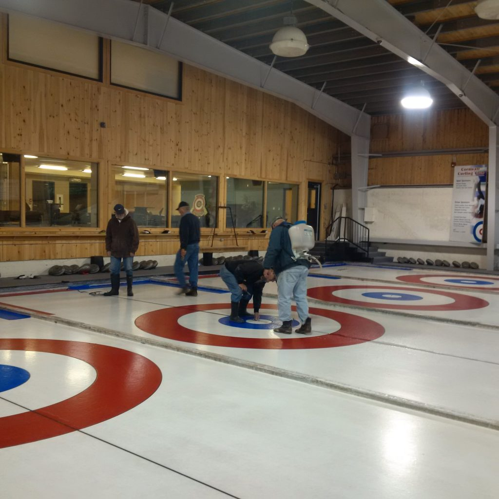 Returning members night a success, ice almost ready!