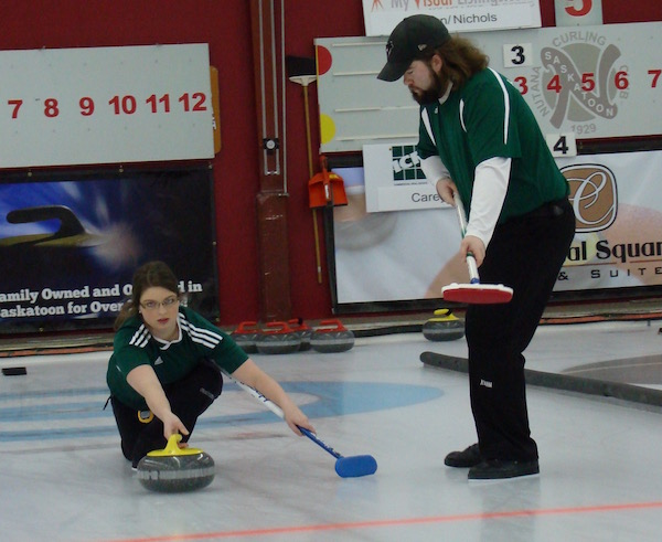 Cornwall's Sabrina Smith, along with Kyle Holland win their last 3 games at Mixed Doubles