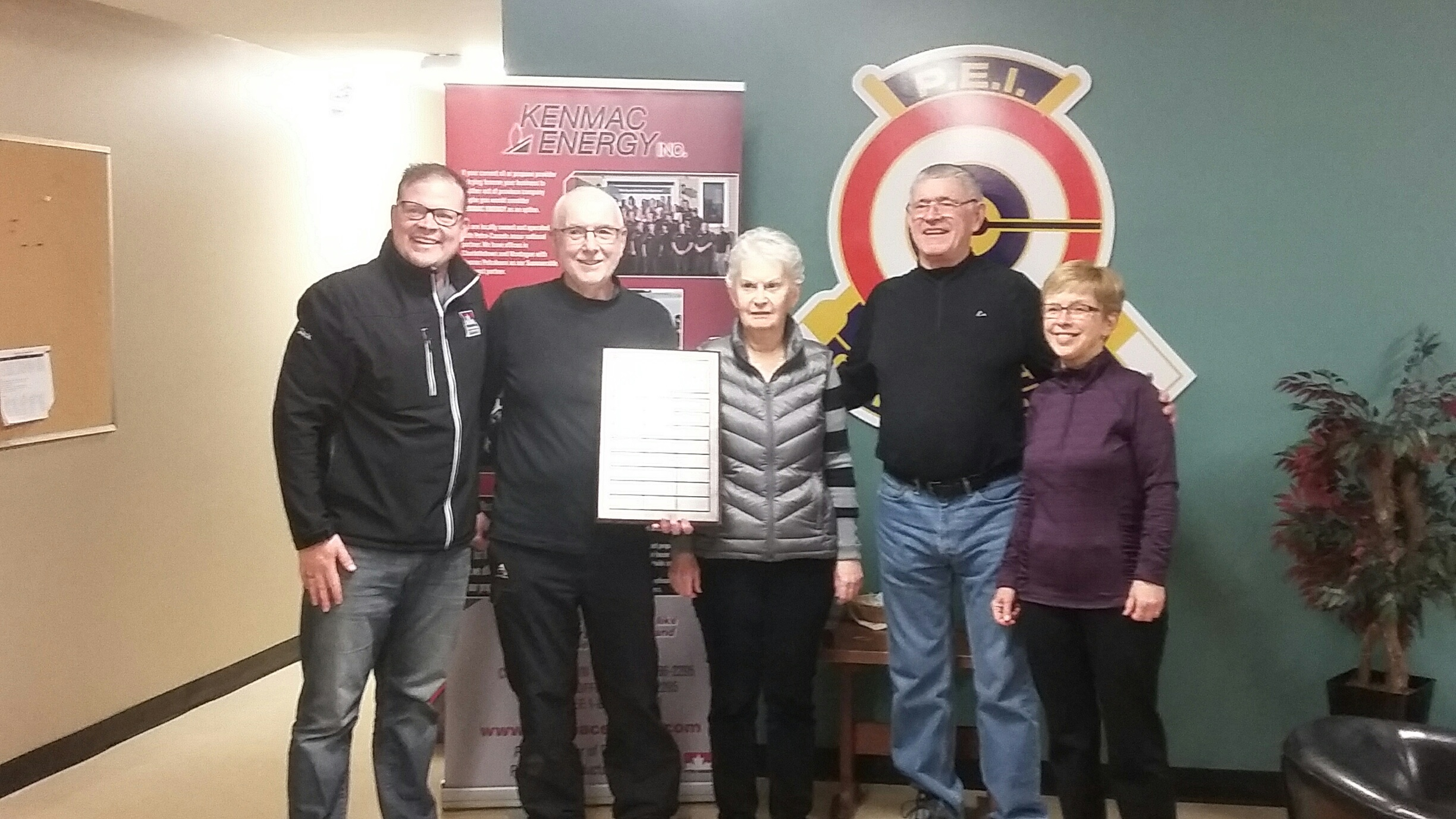 Durant rink wins successful Kenmac Energy Funspiel!