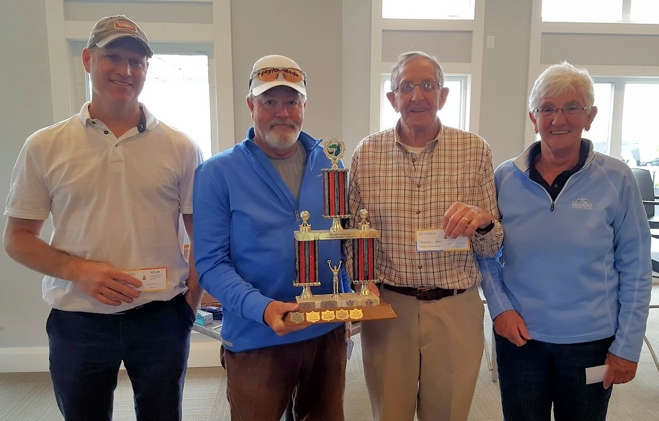 Rain held off for annual Club golf tourney