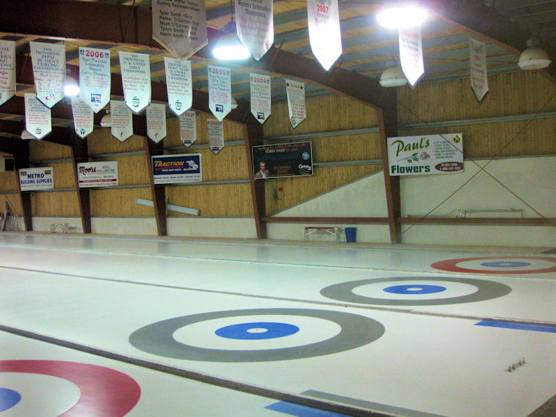 Ice On Track For Free Curling Instruction Cornwall Curling Club