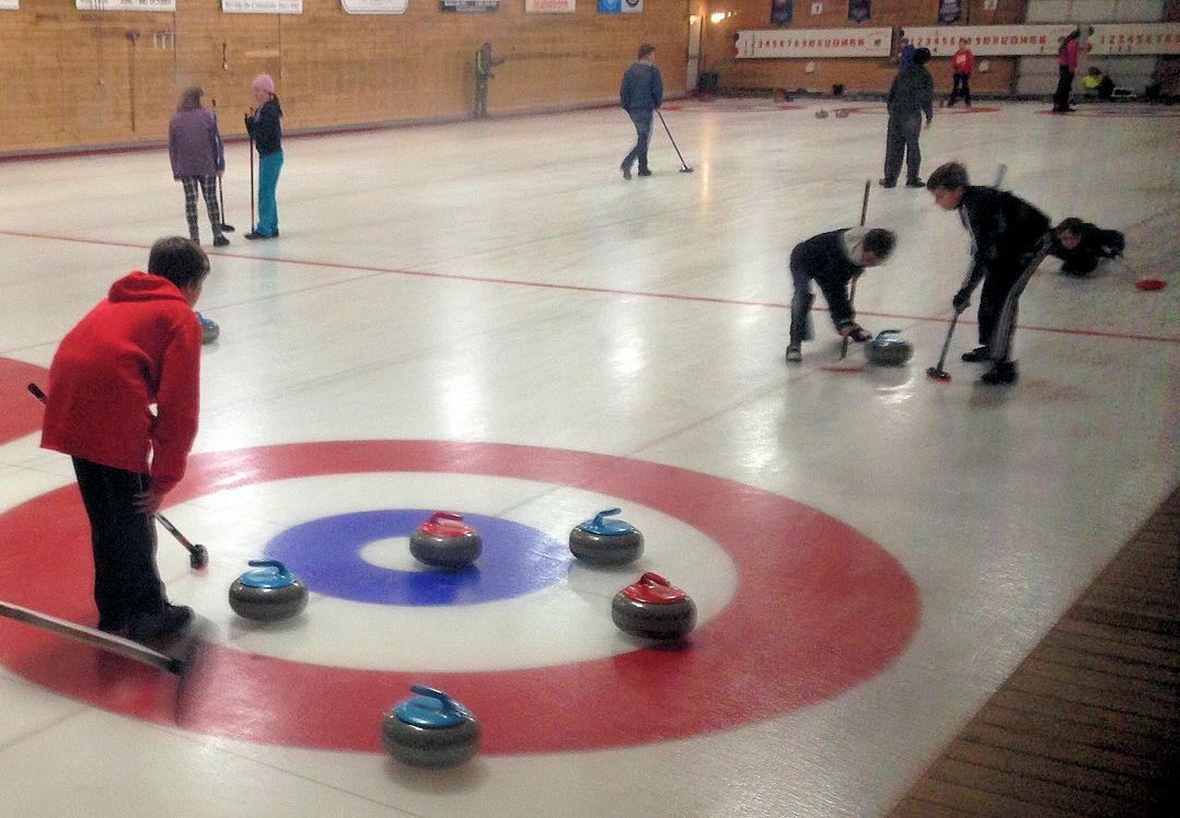 U13 Fun Day @ Crapaud Community Curling Club | Prince Edward Island | Canada