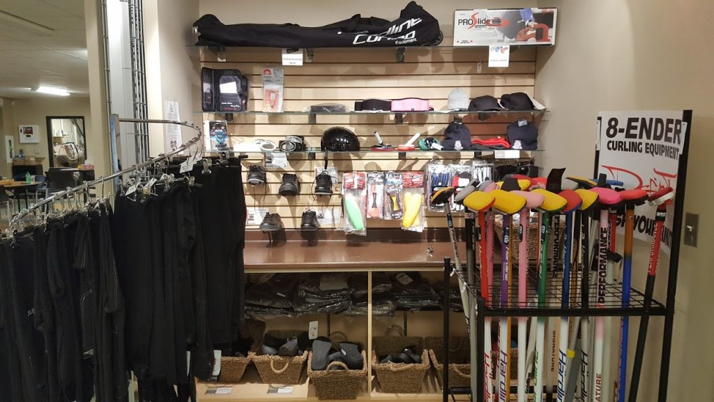 Hurry Hard to our Pro Shop to buy your holiday gifts for your favourite curler!
