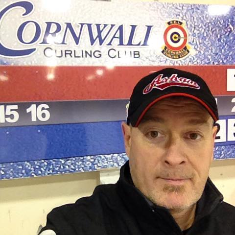 Rob Swan and Curl Across the Nation visited Cornwall today