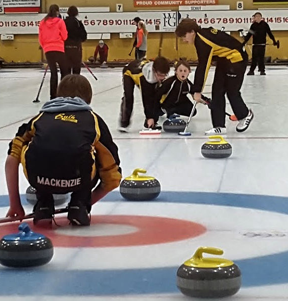 Five Cornwall teams, plus one from Ch'town to take part in Curl Moncton Youthspiel and Canada Games Mini Dev't camp, starting Friday