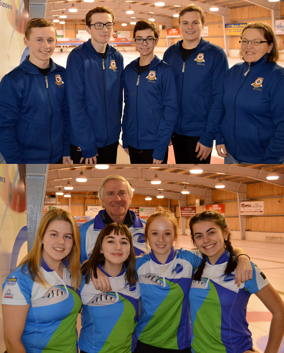 Cornwall's Schut and Ferguson rinks win opening matches in Canada Games Qualifier Finals best of five series