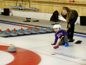 Friday Fun Night and Sports Day Try Curling events held
