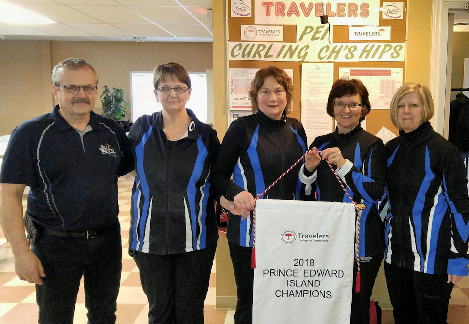 Cornwall's Debbie Rhodenhizer rink wins 2 finals in extra ends to take PEI Travelers Women's title! (updated)