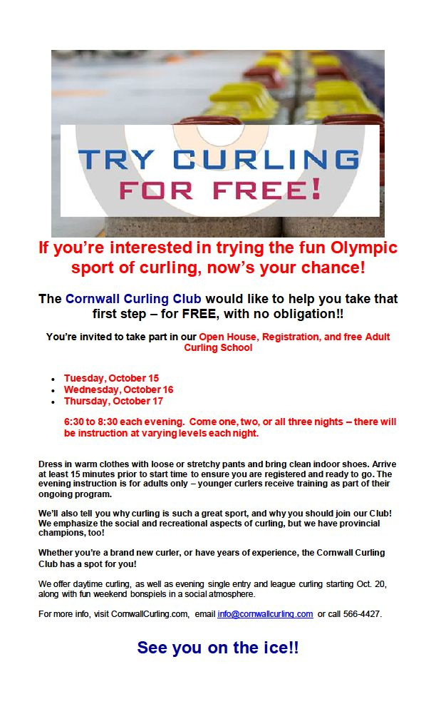 trycurling
