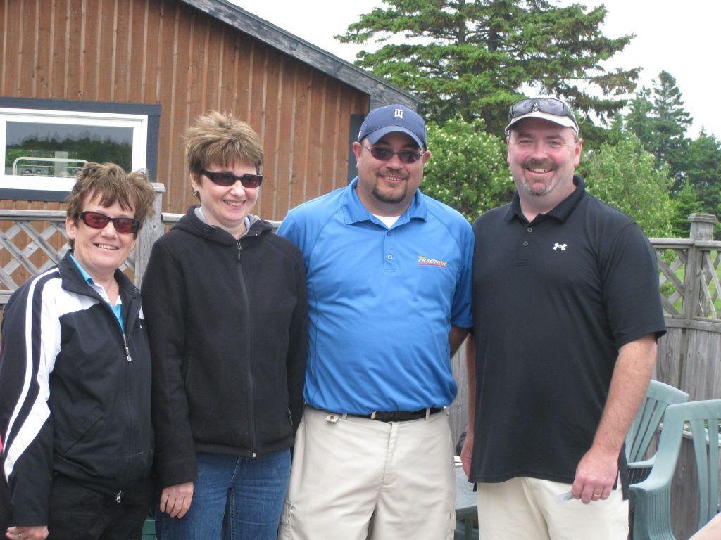 Golf runners-up